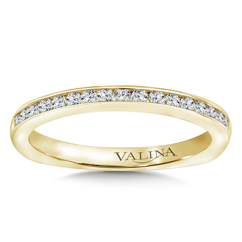 Valina Stackable Wedding Band in 14K Yellow Gold (.23 ct. tw.)