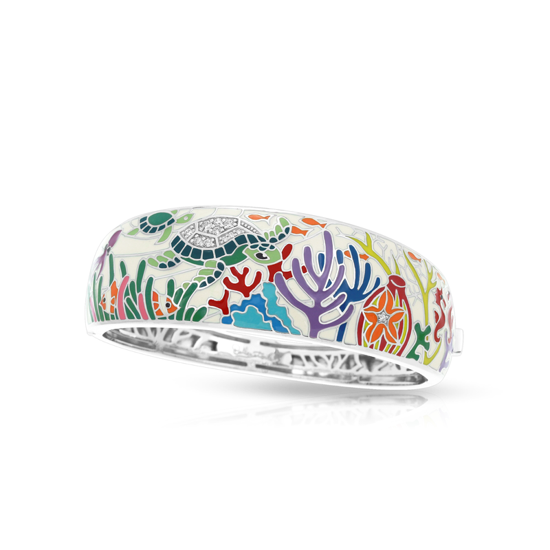 Belle Etoile Sea Turtle Bangle
