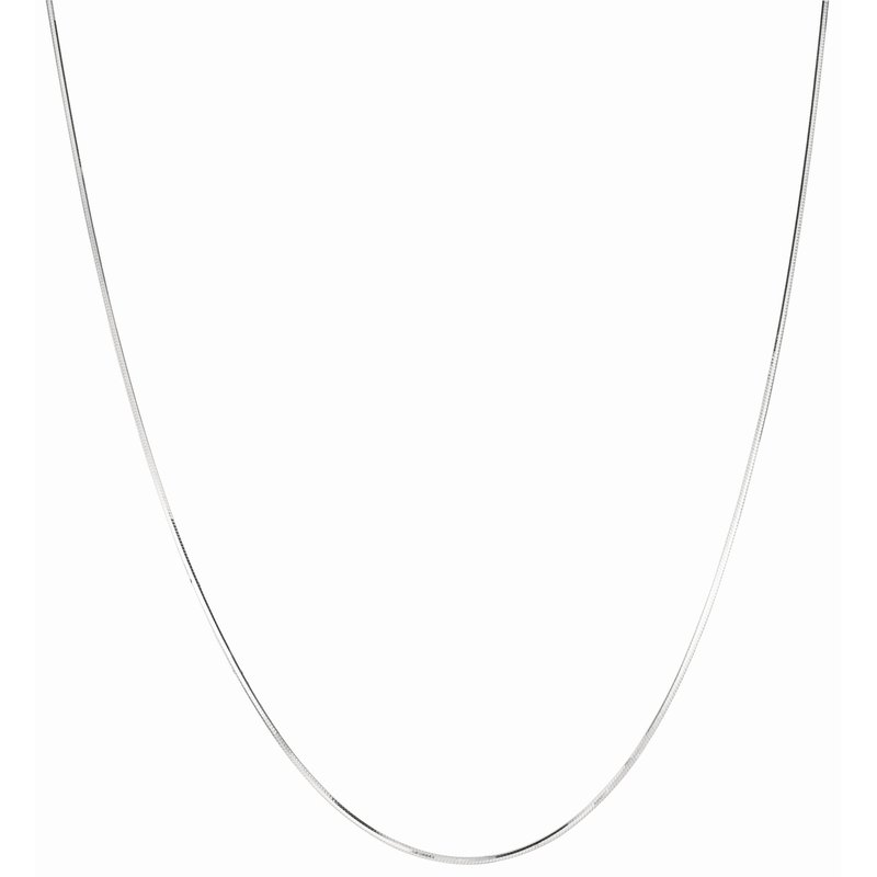 Royal Chain Silver 1.1mm Octogonal Snake Chain