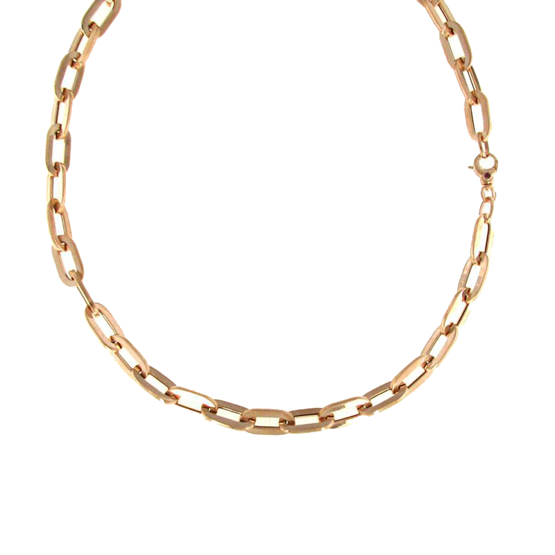 Roberto Coin 18Kt Gold Oval Link Necklace
