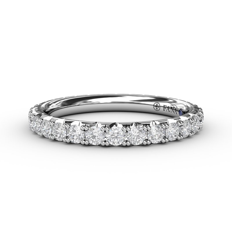 Chunky Pave Diamond Anniversary Band