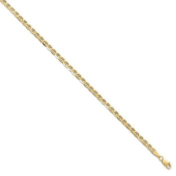 Leslie's 10k Yellow Gold 3.20mm Anchor Chain