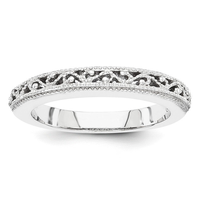 Quality Gold 14k White Gold Band