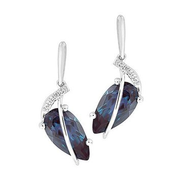 Alexandrite Earrings-CE4282WAL