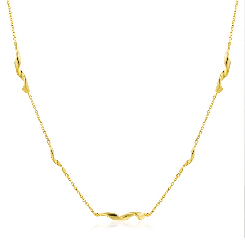 Ania Haie Helix  Necklace