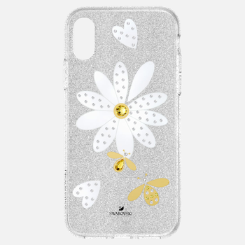 Eternal Flower Smartphone Case with Bumper, iPhone® XS Max, Light multi-colored