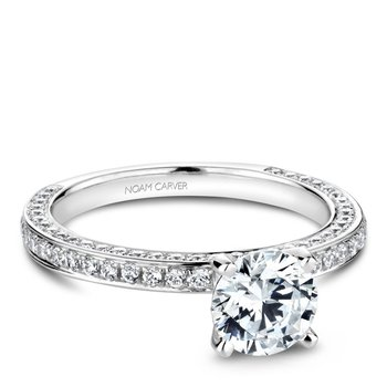 Noam Carver Vintage Engagement Ring R048-01A