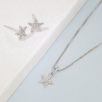 Reach For The Stars Sterling Silver Gift Set
