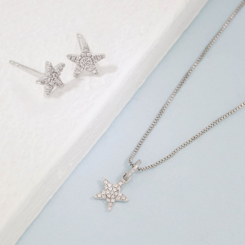 Ella Stein Reach For The Stars Sterling Silver Gift Set