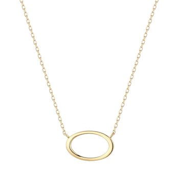 IRENE | Open Oval Necklace