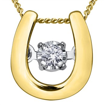 Pulse™ Diamond Solitaire Pendan