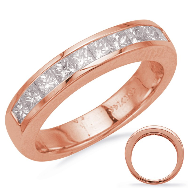 S. Kashi & Sons Bridal Rose Gold Diamond Band