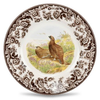 Red Grouse Salad Plate
