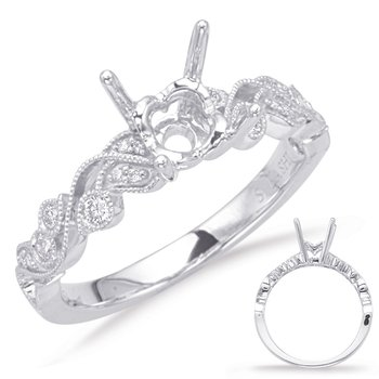 White Gold Enagement Ring