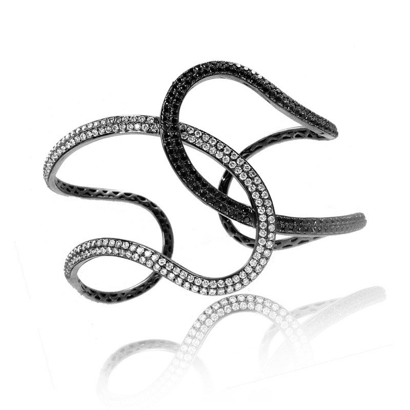 Doves Gothica Interlocking Bangle