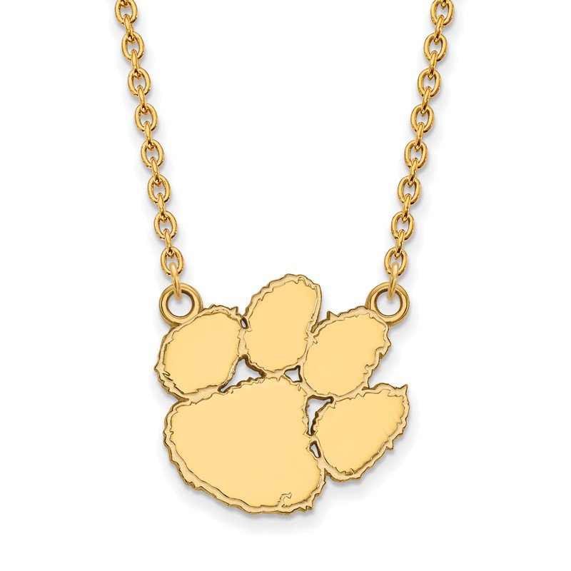 NCAA Gold Clemson University NCAA Necklace
