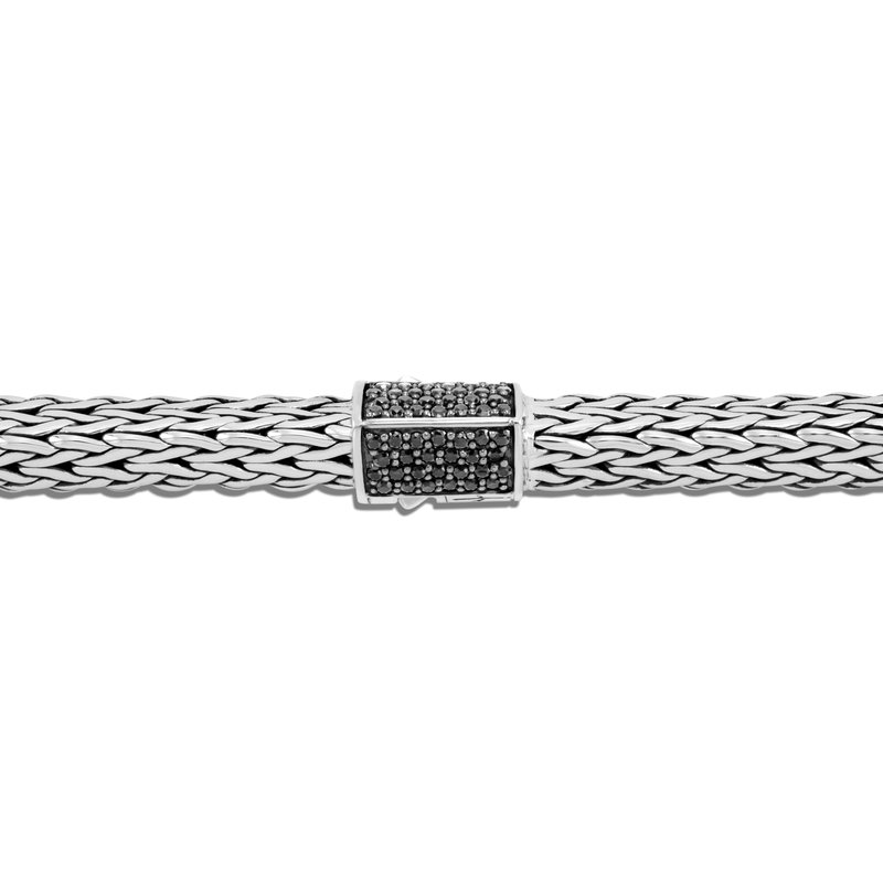 JOHN HARDY Tiga Classic Chain 8MM Bracelet in Silver with Gemstone