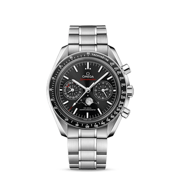 Speedmaster Moonwatch Omega Co-Axial Master Chronometer Moonphase Chronograph 44.25 mm