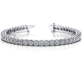 Four Prong Tennis Bracelet