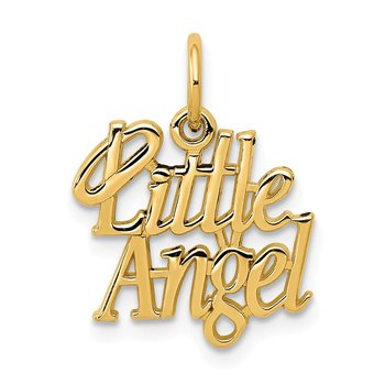14k Little Angel Charm