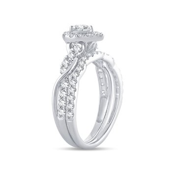 14K 1.00Ct Diamond Bridal Ring