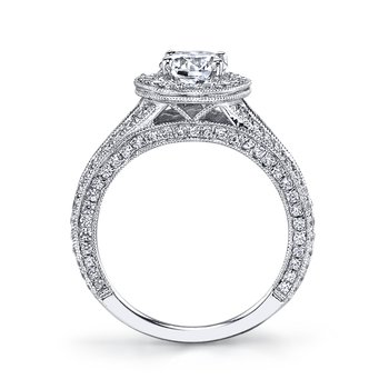 Diamond Engagement Ring 1.11 ct tw