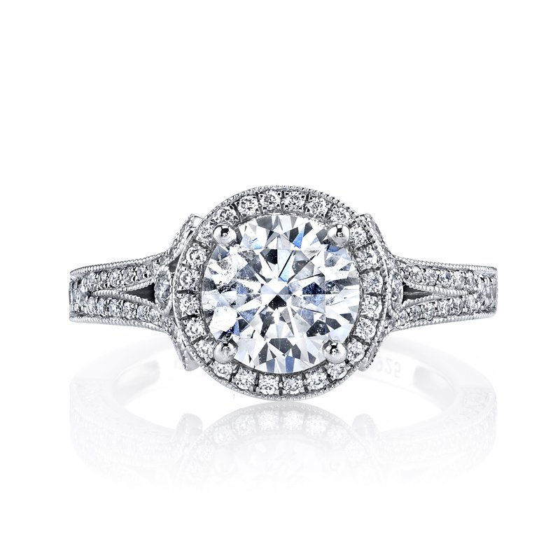 MARS Jewelry MARS 25964 Diamond Engagement Ring 0.60 Ctw.
