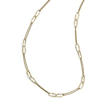Leslie's 14K Polished Fancy Link Necklace
