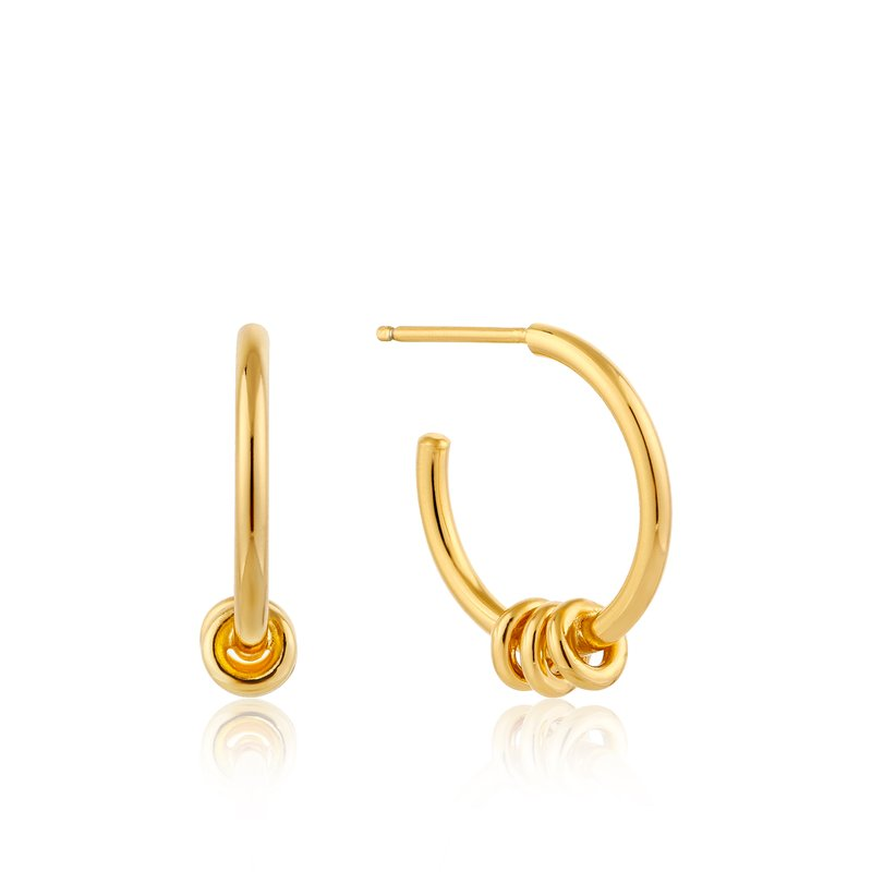 Ania Haie Modern Hoop Earrings