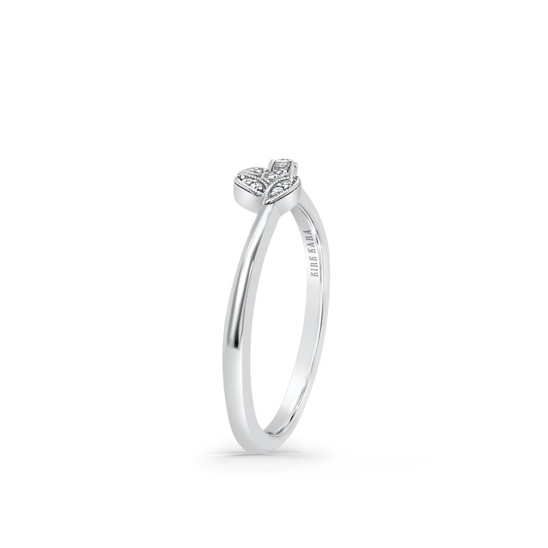 Home Try On Botanical Diamond Replica Wedding Band