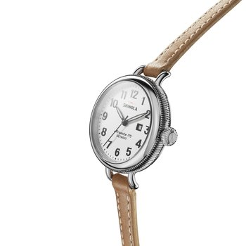 The Birdy 34mm Stainless Steel And Tan Leather Womens Watch