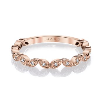 MARS 26692 Stackable Ring, 0.08 Ctw.