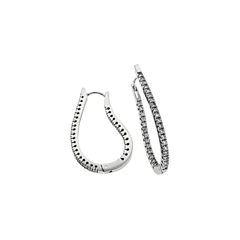 S. Kashi  & Sons Hoop Earrings 41mm