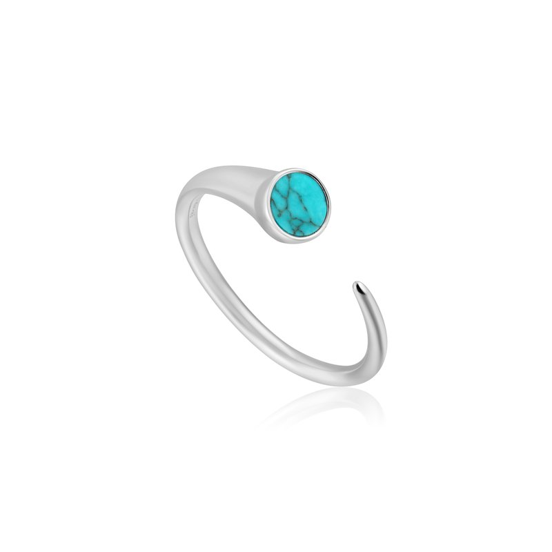 Ania Haie Turquoise Claw Ring