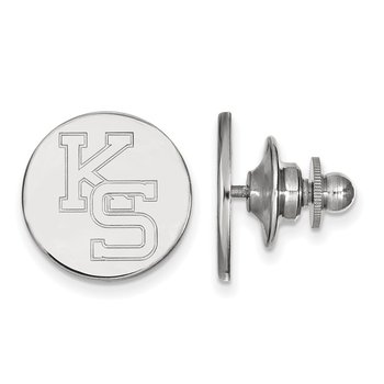 Sterling Silver Kansas State University NCAA Lapel Pin