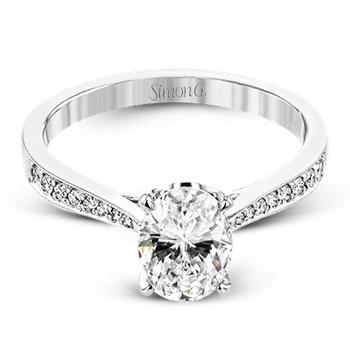 TR701-OV ENGAGEMENT RING
