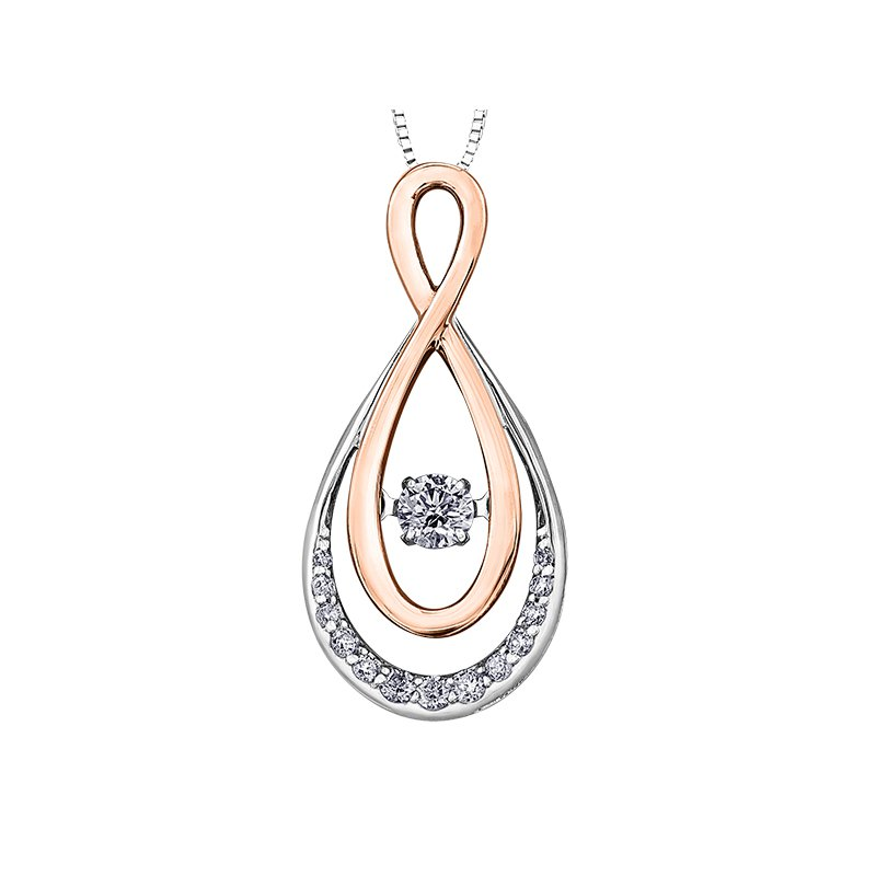 I Am Canadian Northern DancerDiamond Pendant