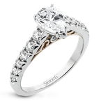 Simon G LP2356-PR ENGAGEMENT RING