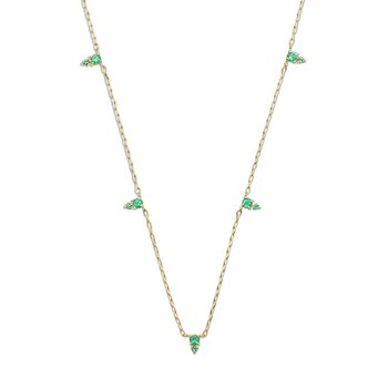 Devere Emerald Necklace