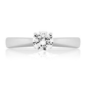 IS-The Happy Diamond Solitaire Ring