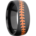 Lashbrook Designs Z8DBASEBALLA+ORANGE_BEAD