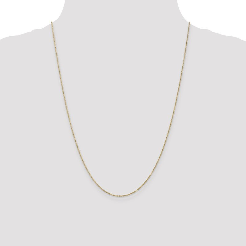 Quality Gold 10k .8mm Lite-Baby Rope Chain