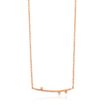 Texture Solid Bar Necklace