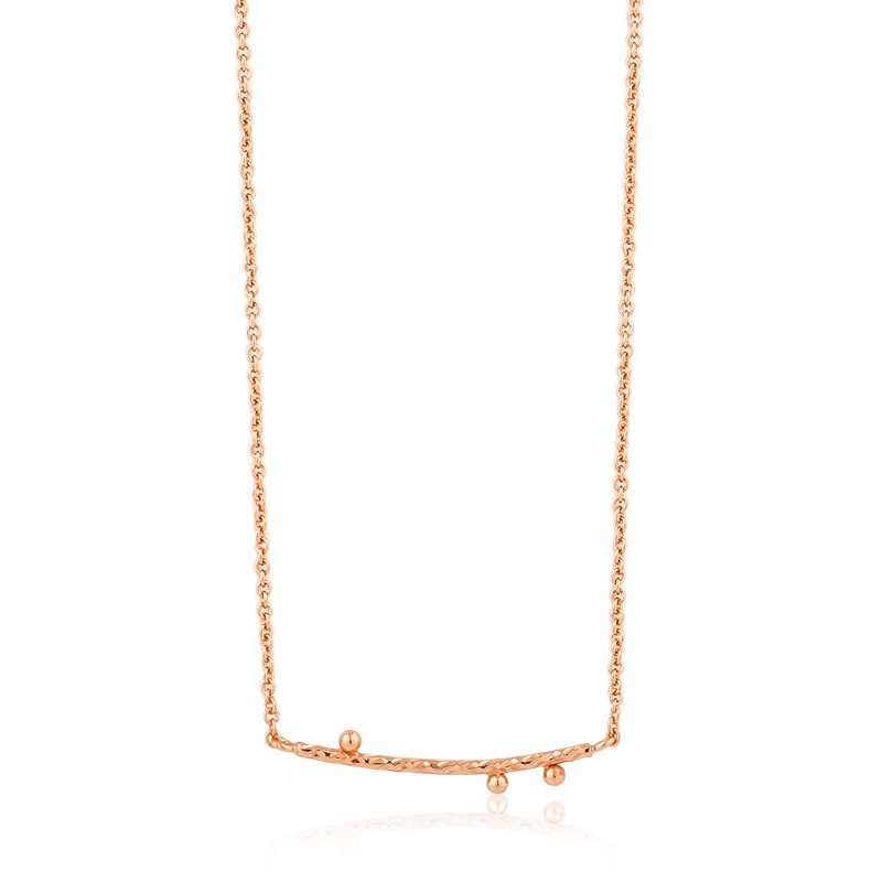 Ania Haie Texture Solid Bar Necklace