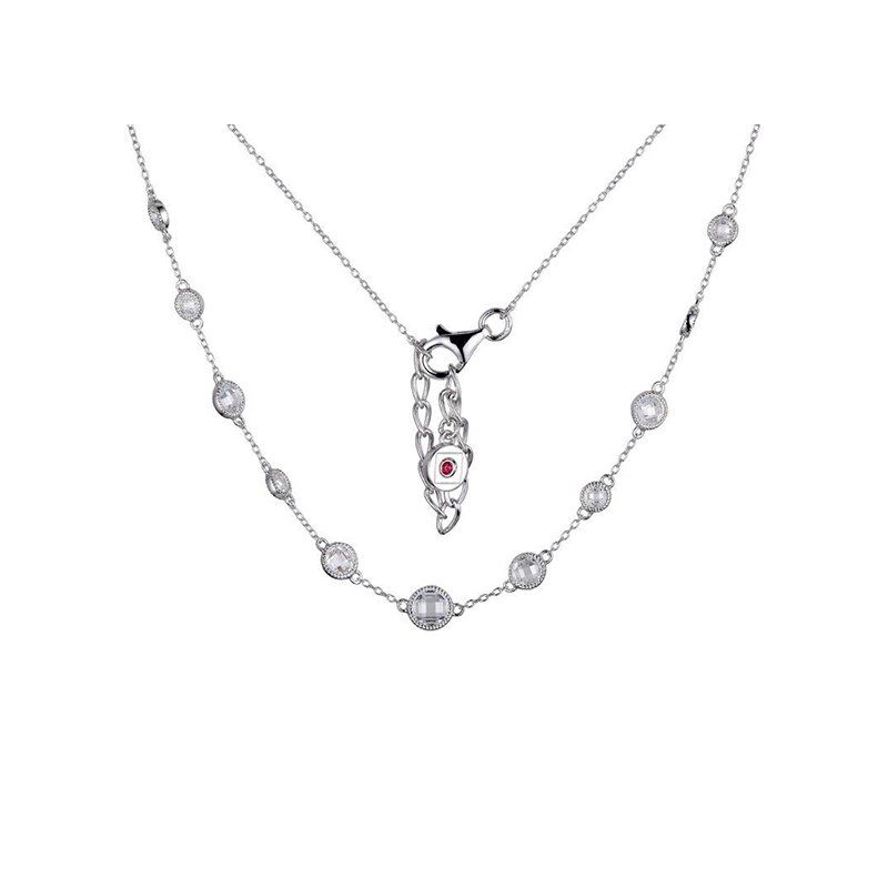 ELLE Boutique Essence Collection Necklace - White
