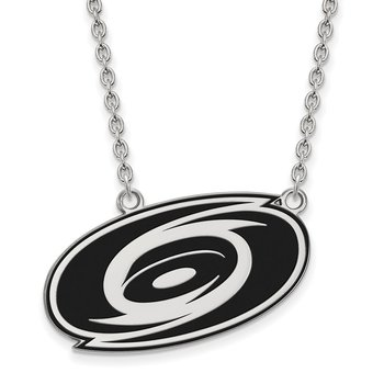 Sterling Silver Carolina Hurricanes NHL Necklace