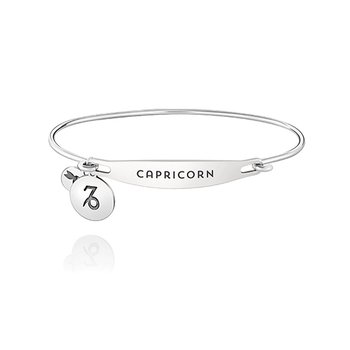 Zodiac: Capricorn ID Bangle