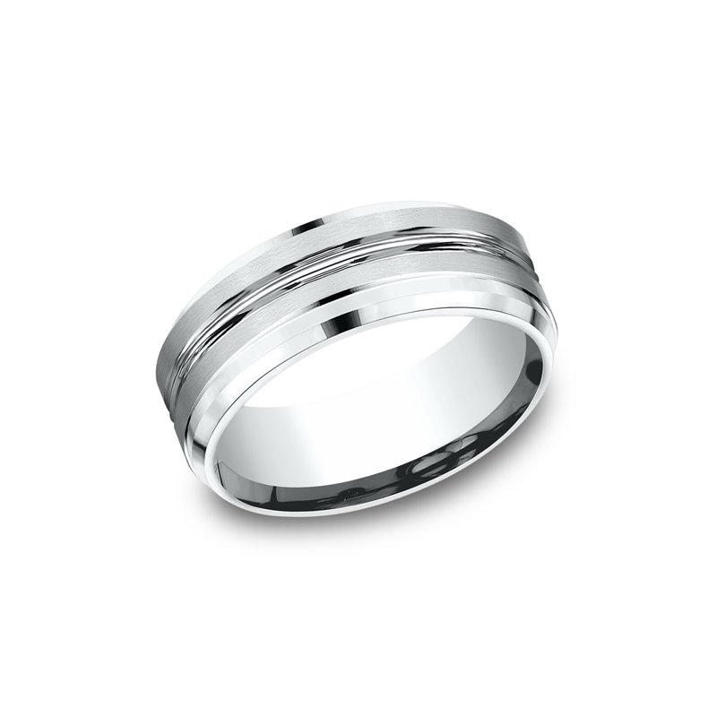 Benchmark Wedding Bands Comfort-Fit Design Wedding Ring