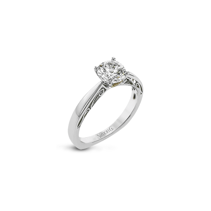 Simon G MR2955 ENGAGEMENT RING