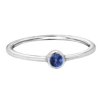 Birthstone Ladies Ring